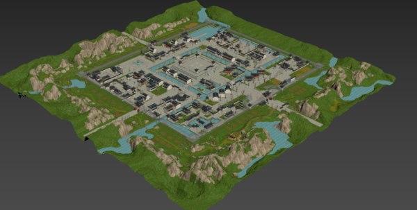 city suzhou 3D model