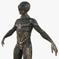 Alien Soldier Character PBR