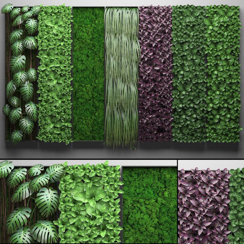 vertical gardening 3D