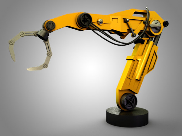 robotic gantry arm 3D model