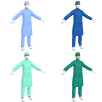 3D pack female surgeon