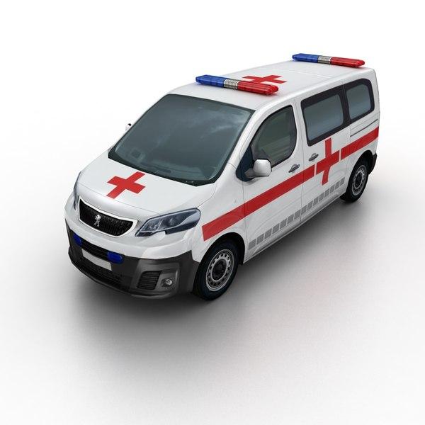 2016 peugeot expert ambulance model