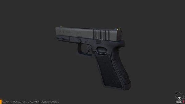 glock17 3D