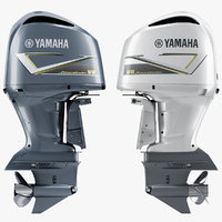 3D model yamaha 5 3l v8