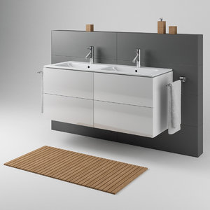 double washbasin duravit model