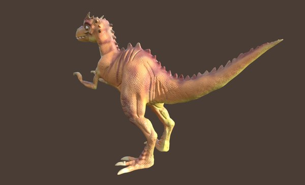 raptor dinosaur 3D