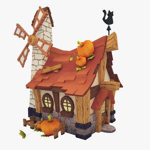 house modelled games 3D model