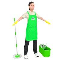 3D maid female bucket model