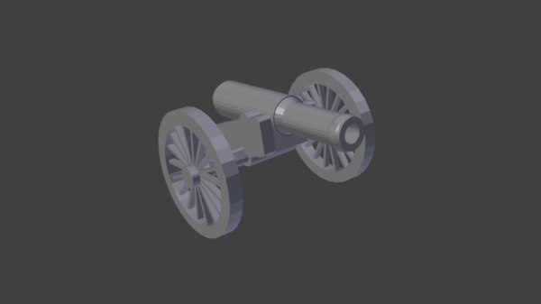 keychain cannon napoleonic model