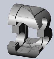puzzle logo 3D model