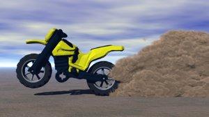 3D model moto toy
