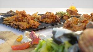 fried chicken meal 3D model