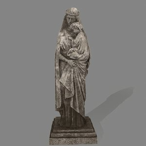 woman statue model