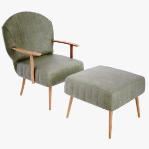 3D lightwave chair vallmor