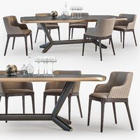 cattelan italia planer table 3D model