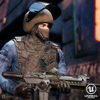 Counter Terrorist Soldier Pack