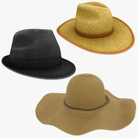 realistic hat model