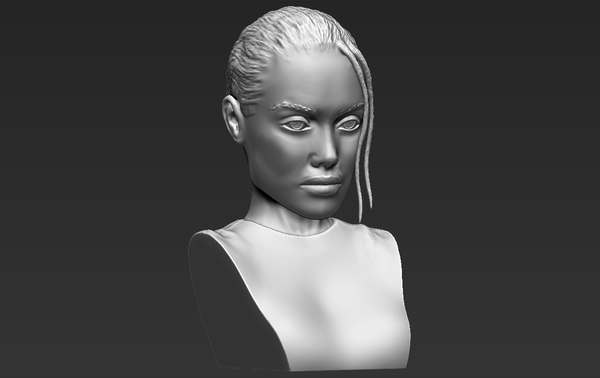 lara croft angelina jolie 3D model