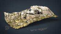 mountain rocks 1 3D model