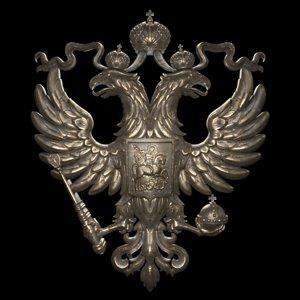 emblem russia printing 3D