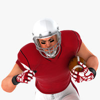 White American Football Player HQ 009