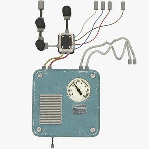 switchboard wires 3D model