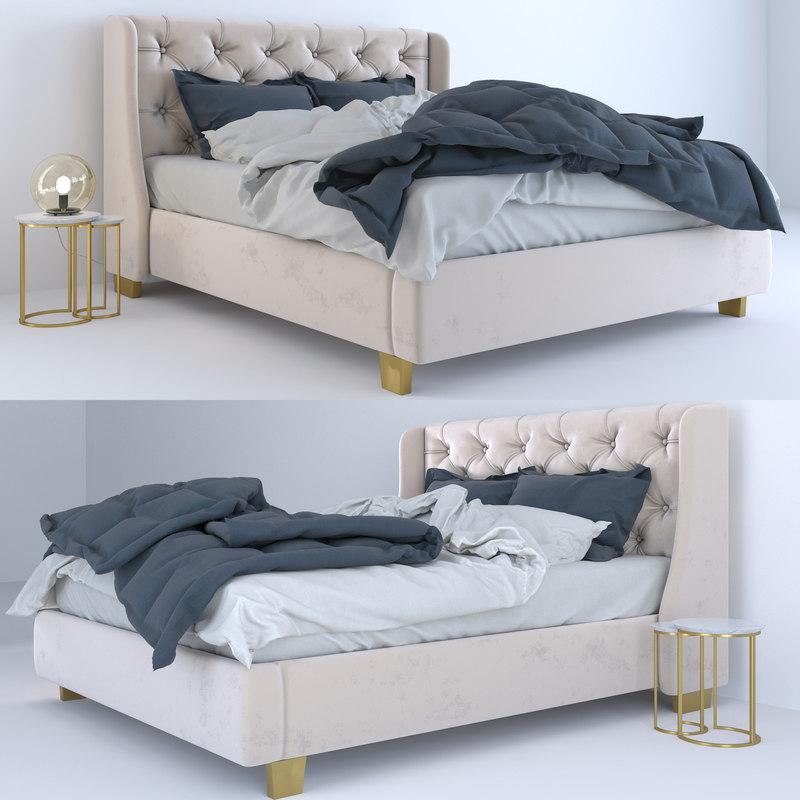 3D bed velvet