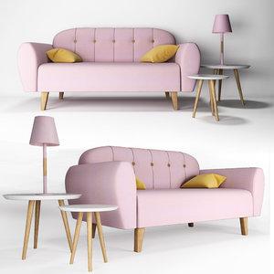 3D pink