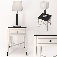 curbstone and table lamp
