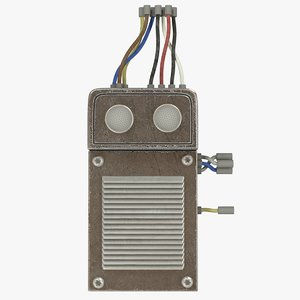 3D switchboard wires model