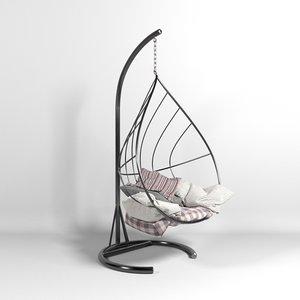 3D hammock leaf