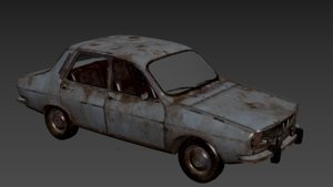 survival car 3D model