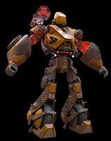 Old Rust Robot
