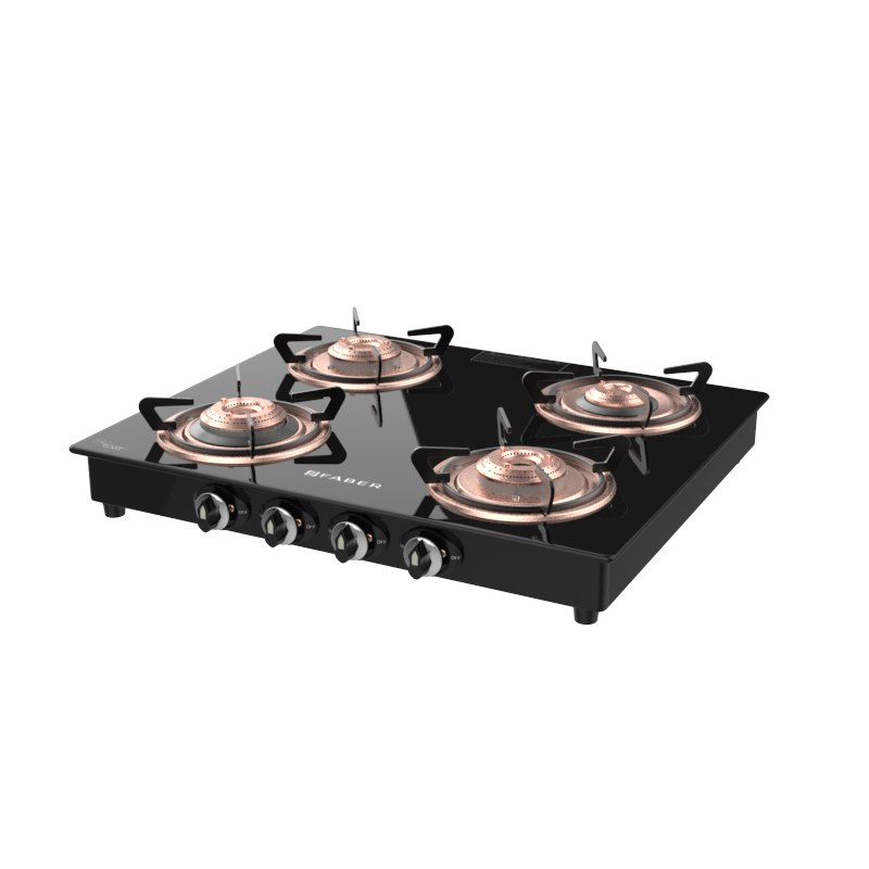 3D cooktop splendor 4bb bk