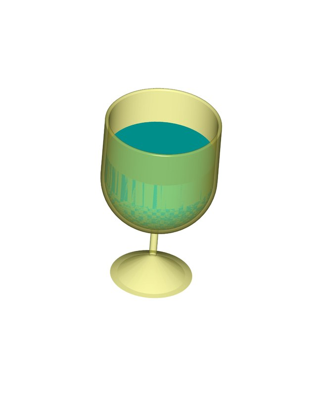 3D model drinking cup