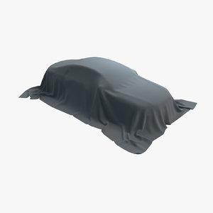 car fabric 01 3D model