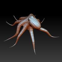 3D octopus model