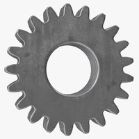 spur gear 21 teeth model