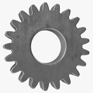 spur gear 21 teeth model