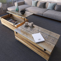 crate coffee tables 3D