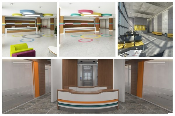 3D lobby 4in1