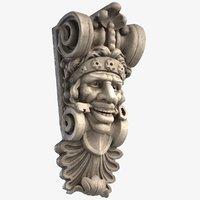 3D corbel face