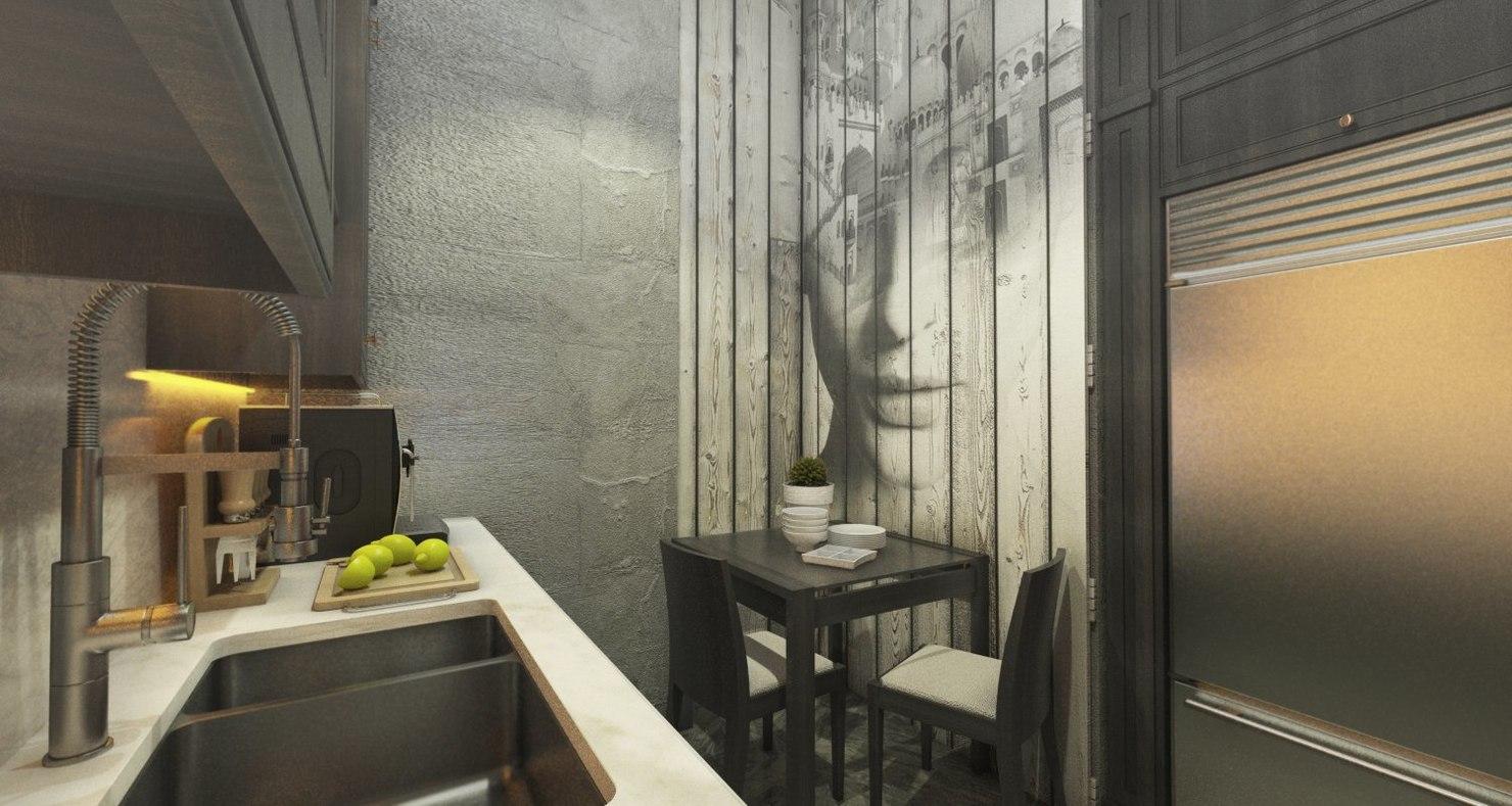 combination room beauty saloon 3D model