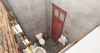 restroom beauty 3D model