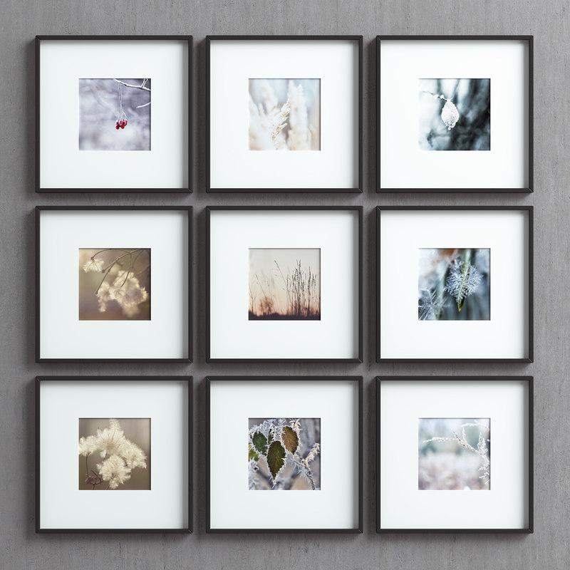 picture frames set images model