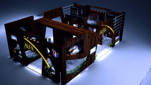 3D fair stand