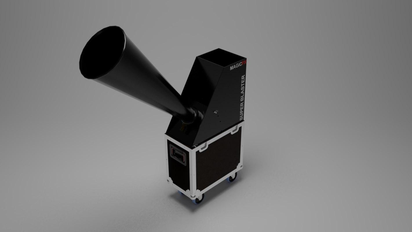 magicfx super blaster 3D
