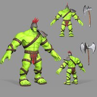 modeled gladiator hulk model