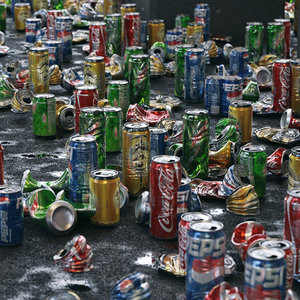 3D garbage cans beverage 24 model