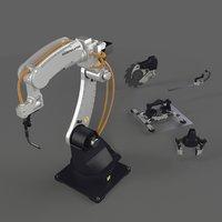 Manipulator Robot RIGGED